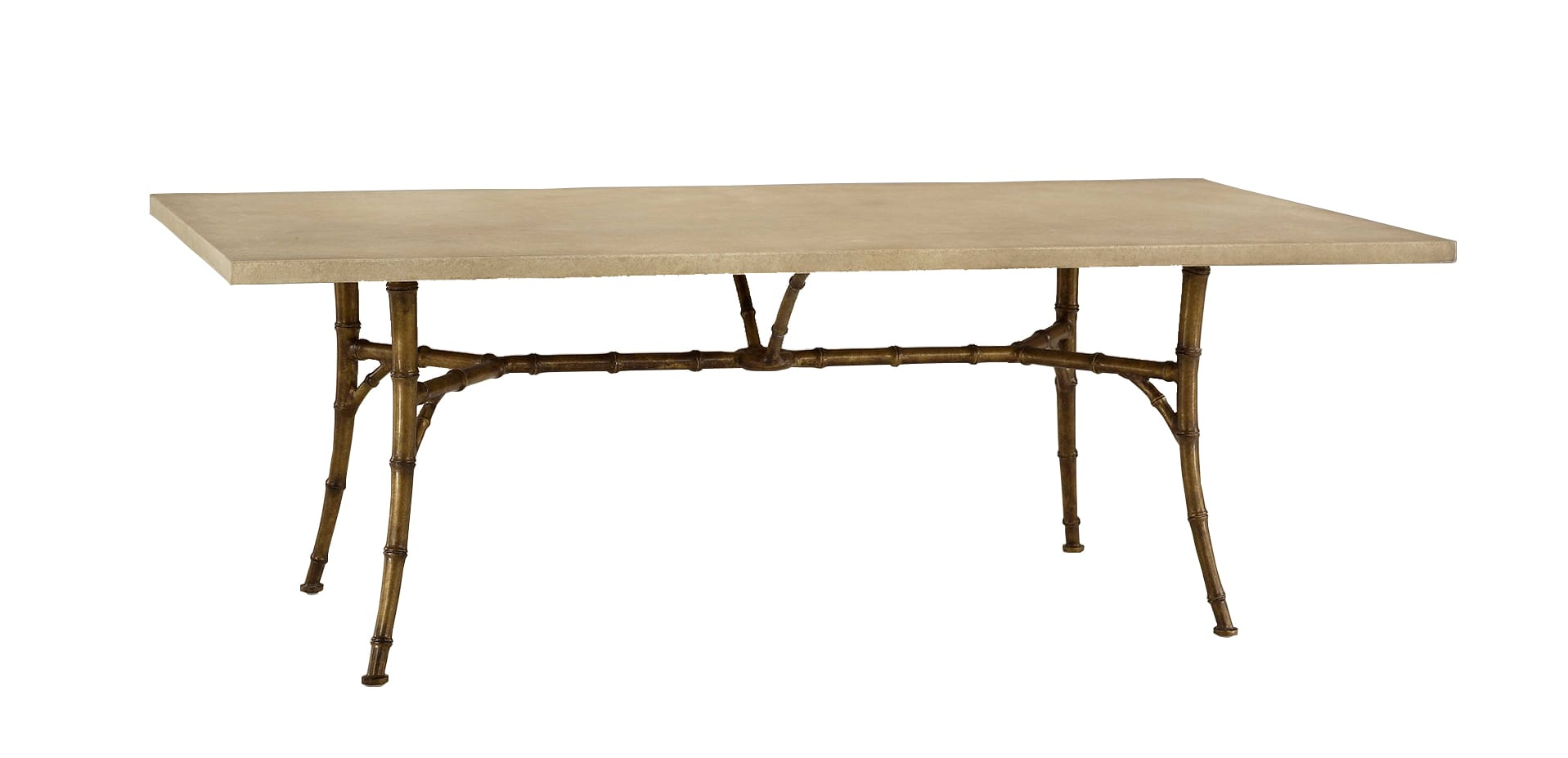 Bamboo Rectangular Dining Table - Tatiana Tafur for Modern Bamboo Dining Table  570bof