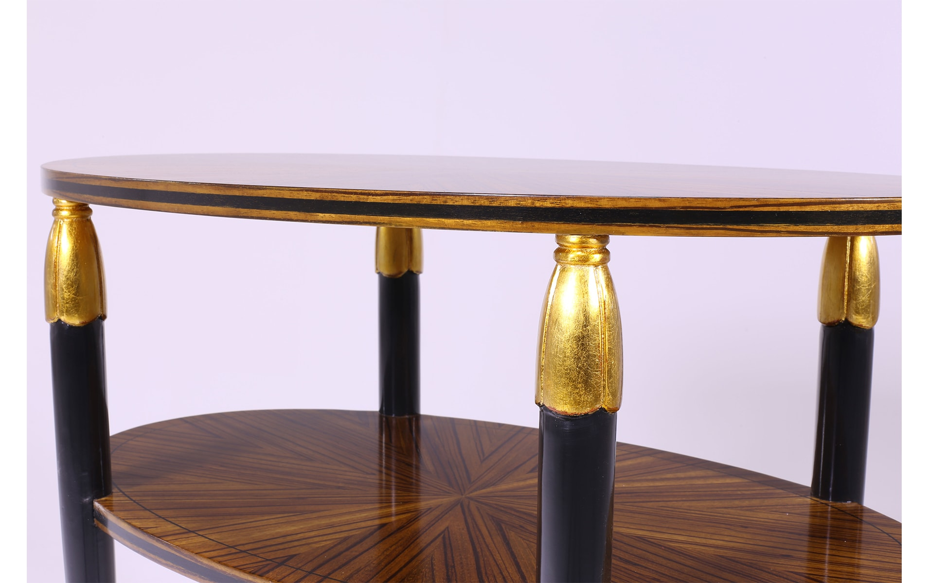 Oval Art Nouveau Style Tea Table