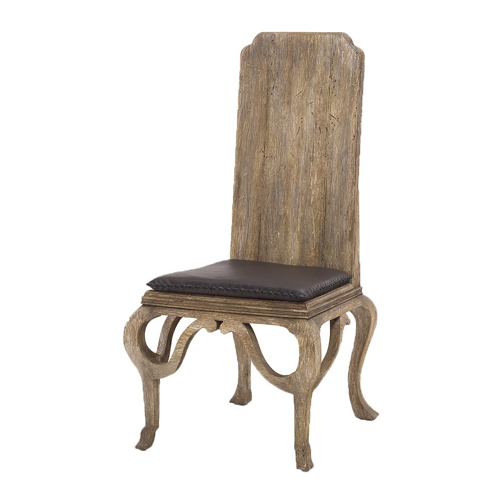 SALE Wood Backed Irish Hall Side Chair